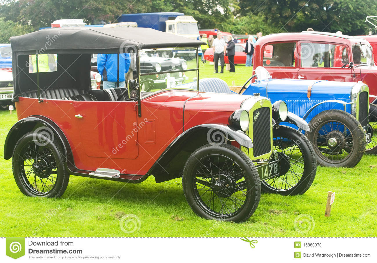 A Row Of Vintage Austin Cars. Editorial Image - Image of board ...