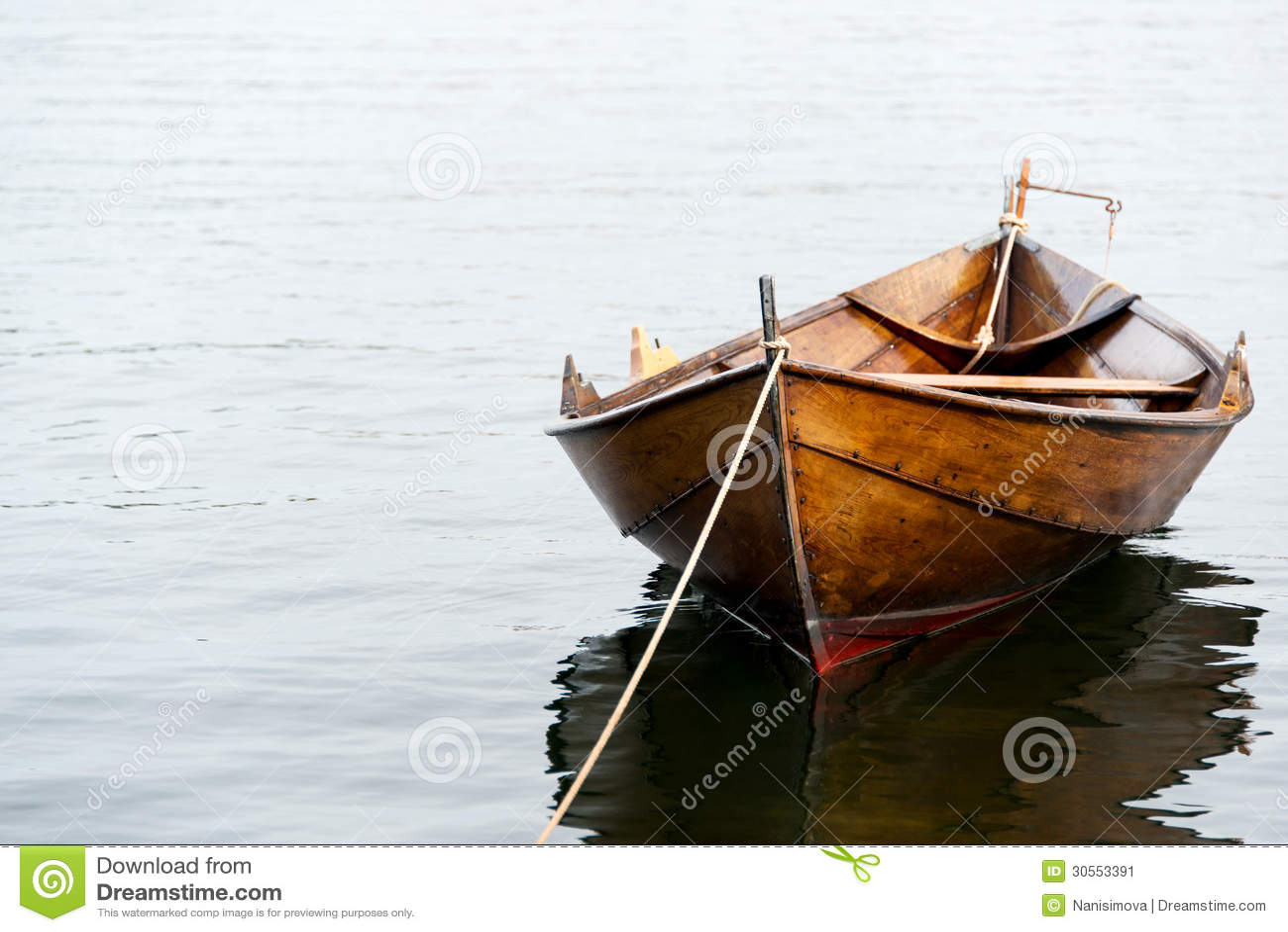 Rowboat In Oslo Stock Image - Image: 30553391