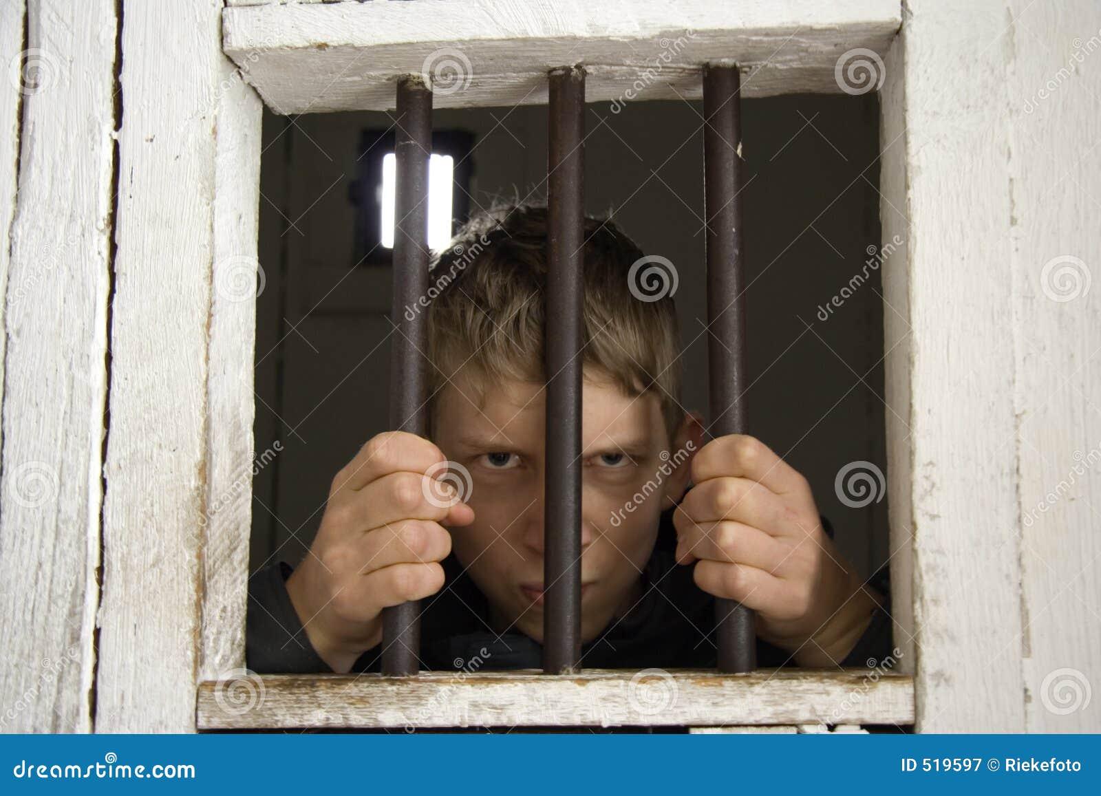 Rowdy behind ancient prison bars