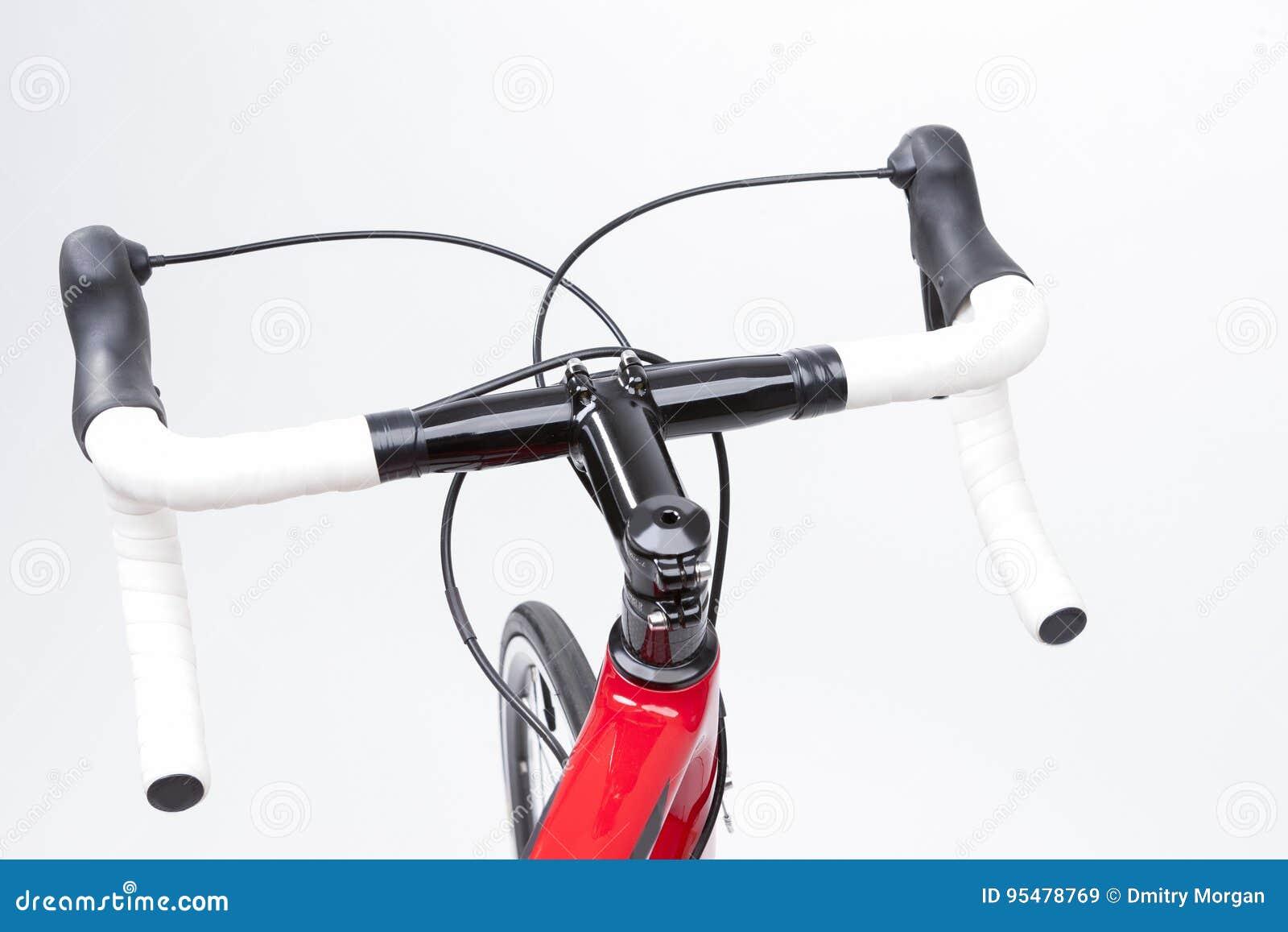 Rowerowy pojęcie Częściowy widok Fachowego węgla Drogowy rower H