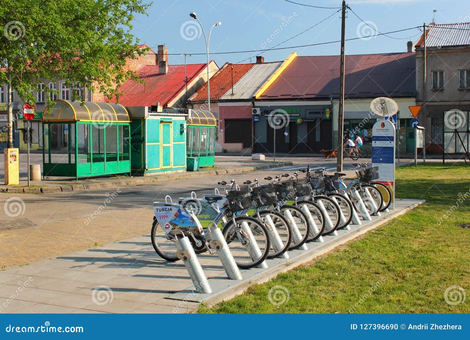 Roweru wynajem stacja w Stalowa Wola, Polska