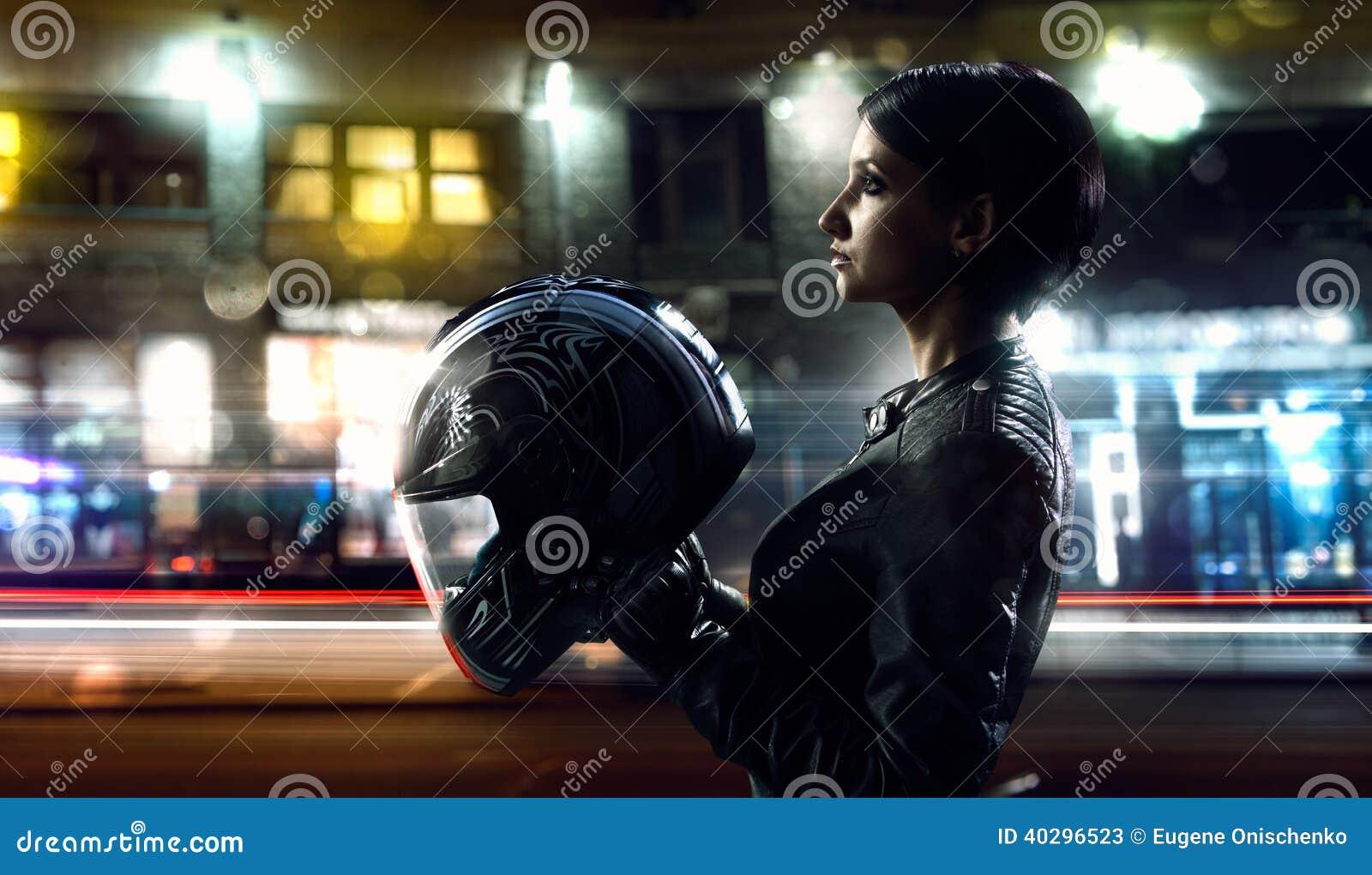 Rowerzysta kobieta