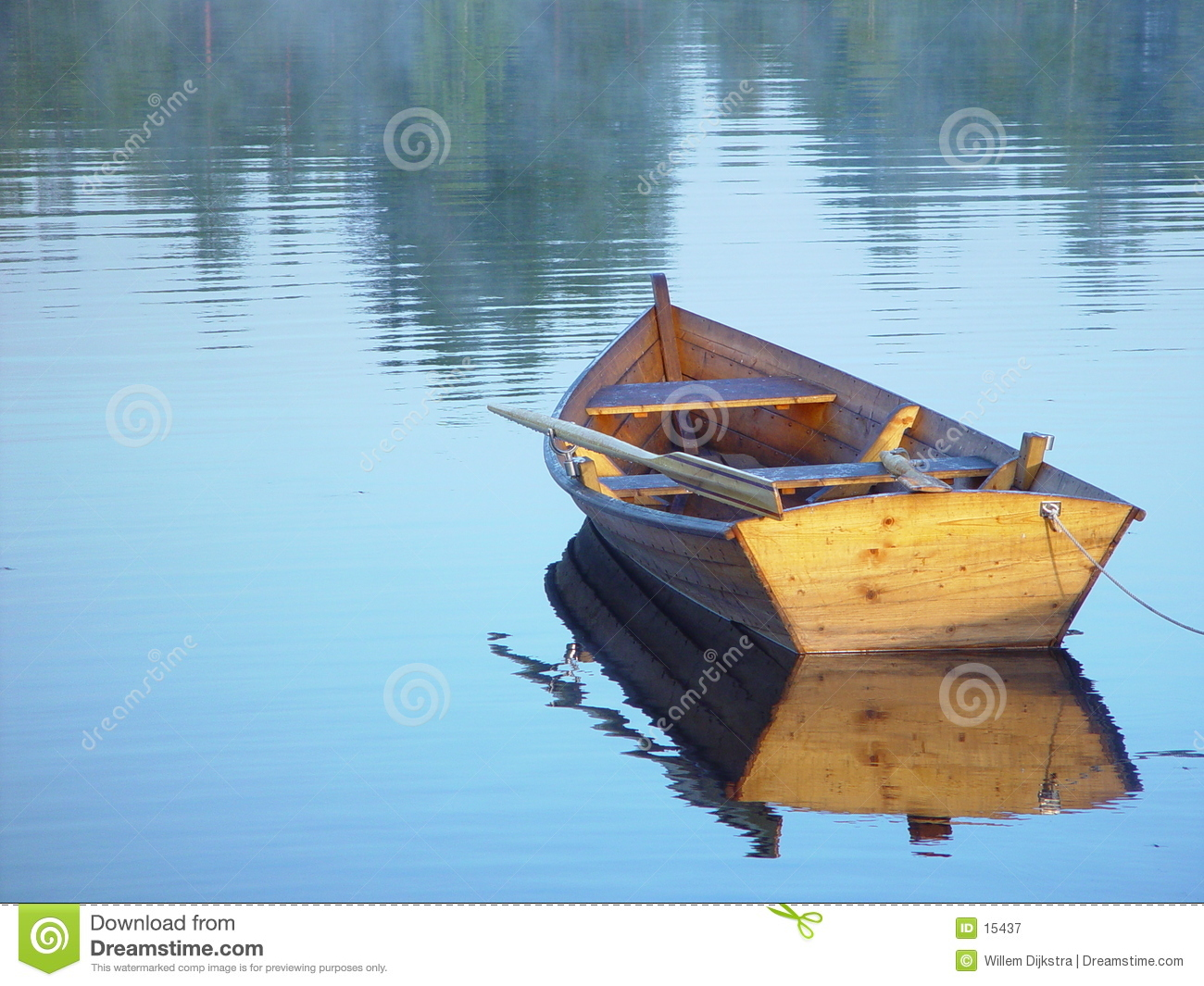 Rowing boat stock image. Image of peace, smooth, reflection - 15437