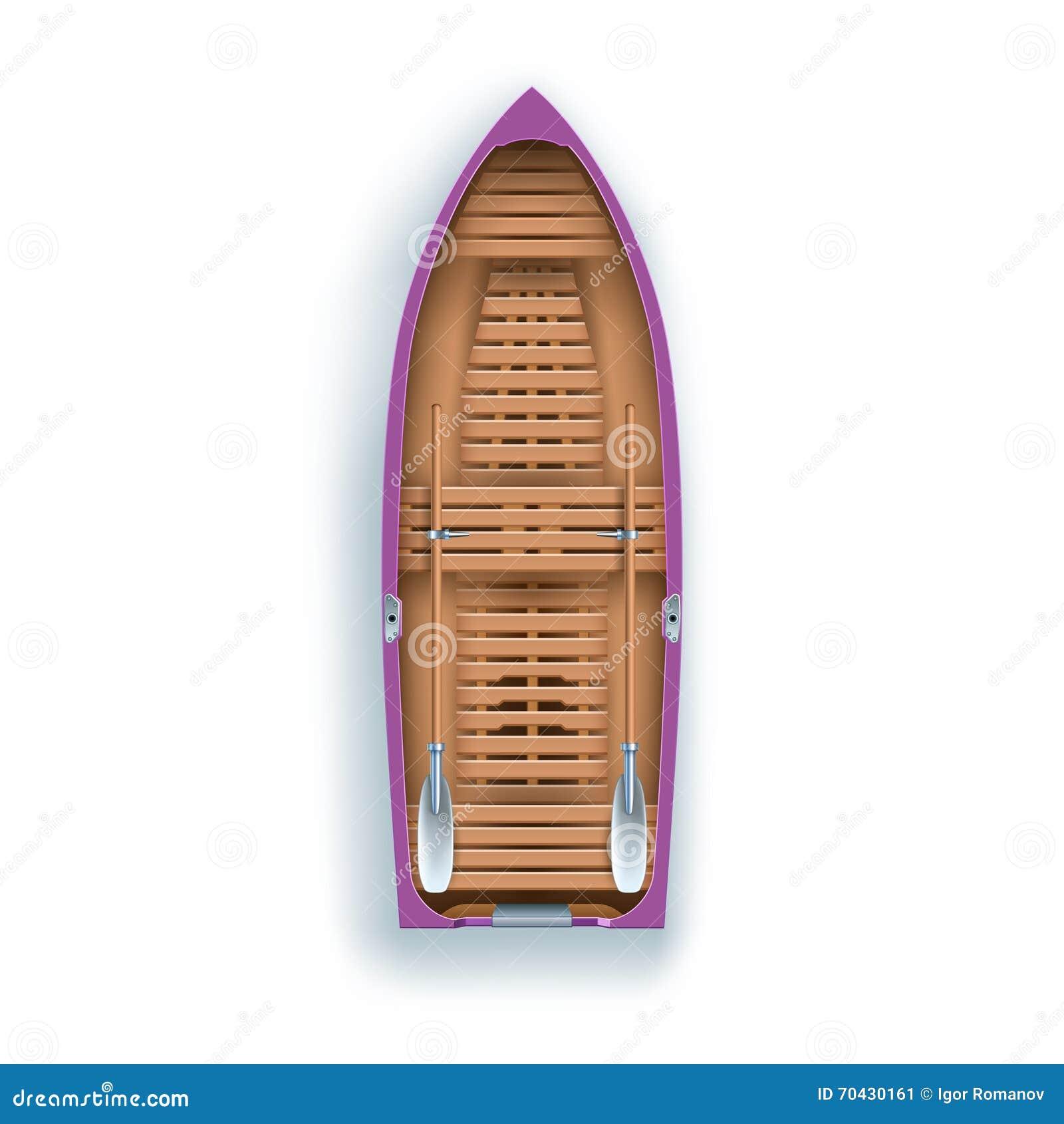 Rowing Boat Promenade Stock Illustration Image 70430161