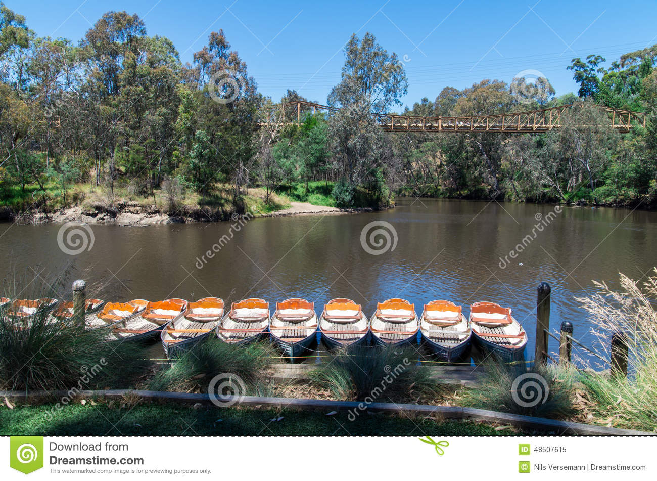 Rowing boats at Fairfield Boathouse