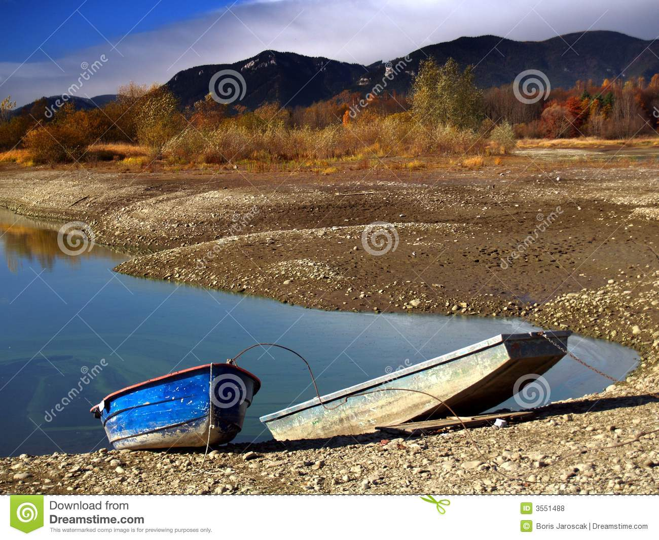 Download Rowing boats by lake stock photo. Image of trees, scenery - 3551488