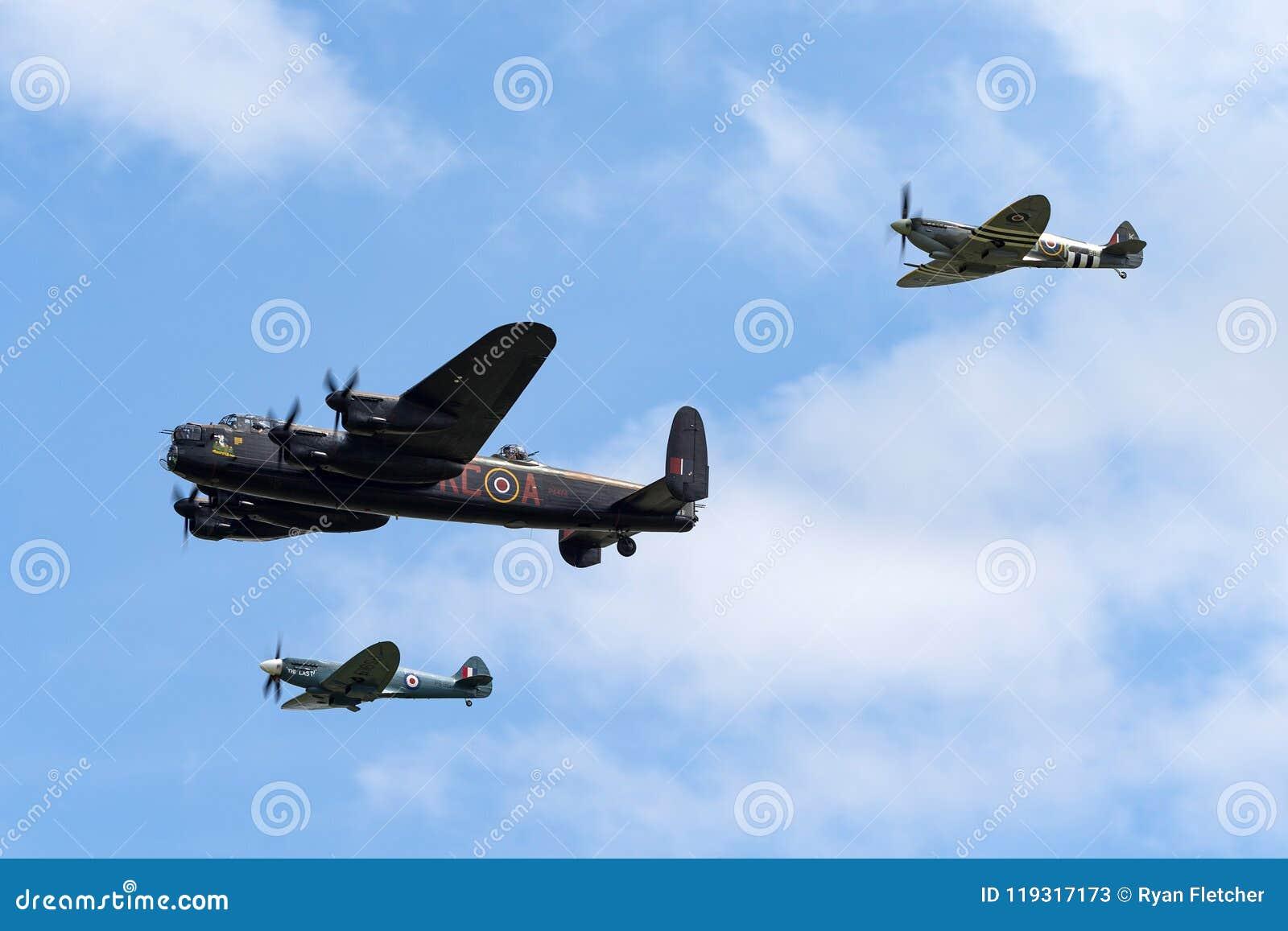 Royal Air Force Battle Of Britain Memorial Flight Avro