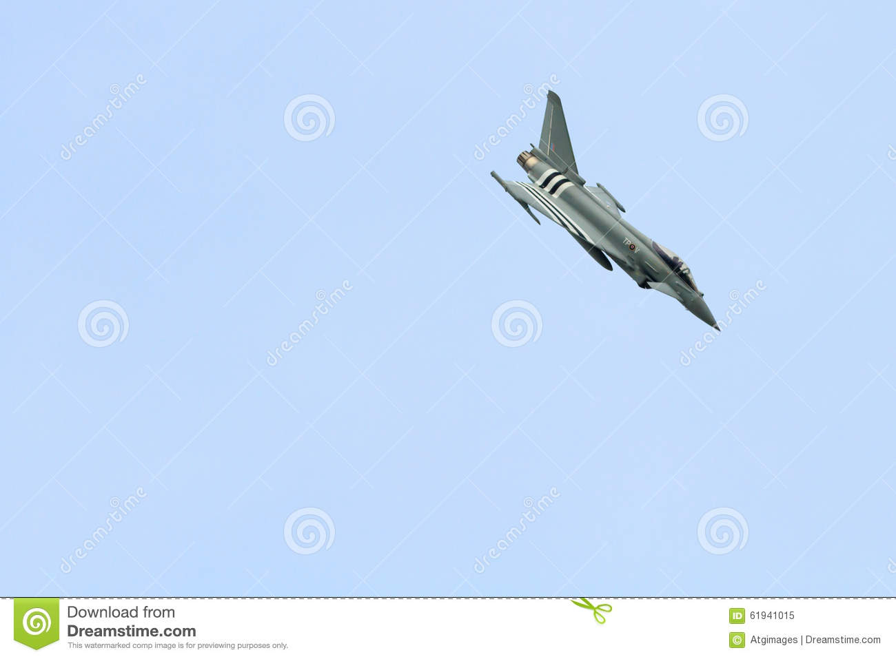 Royal Air Force Eurofighter Typhoon Editorial Image - Image of blue