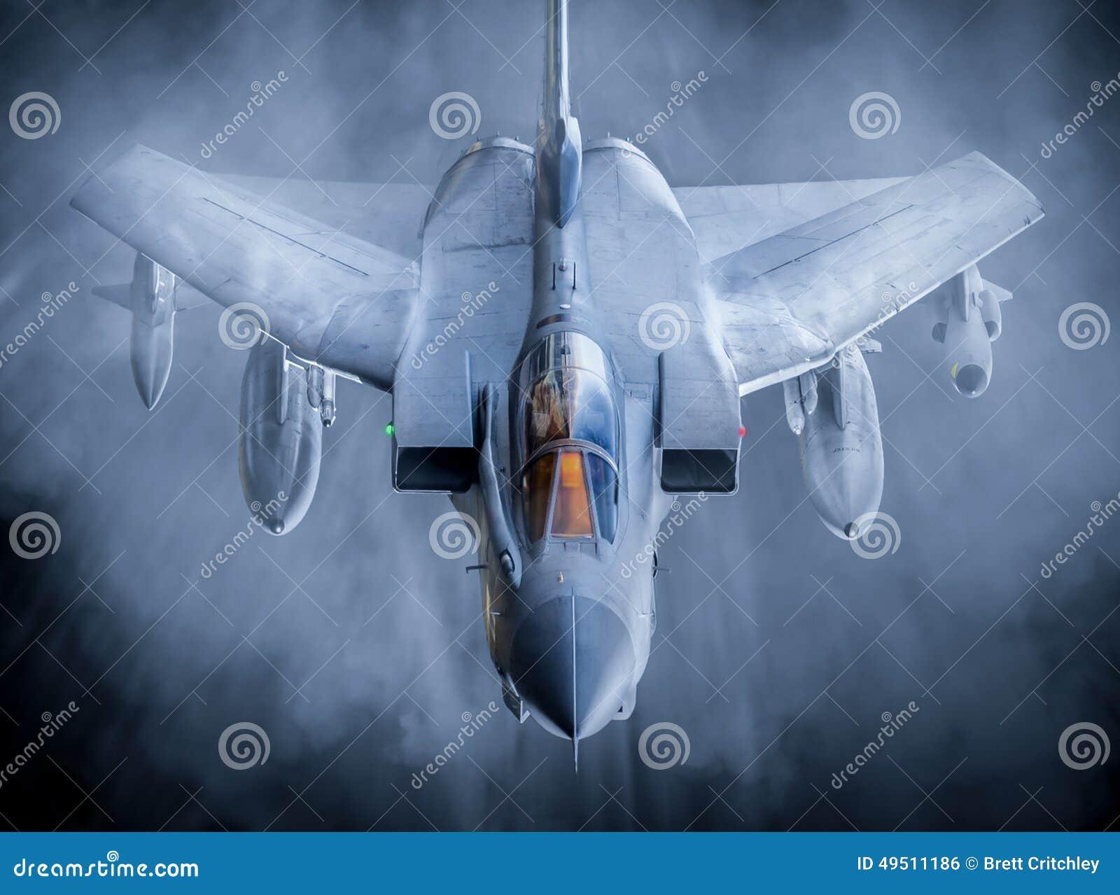 Fast fighter jet