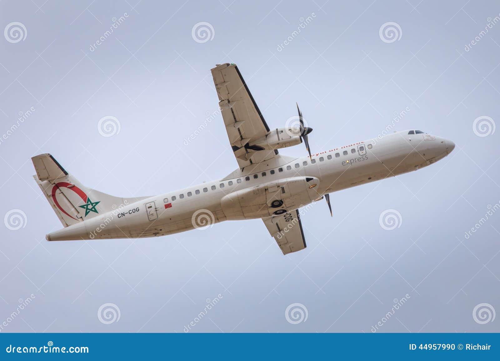 vol charter maroc