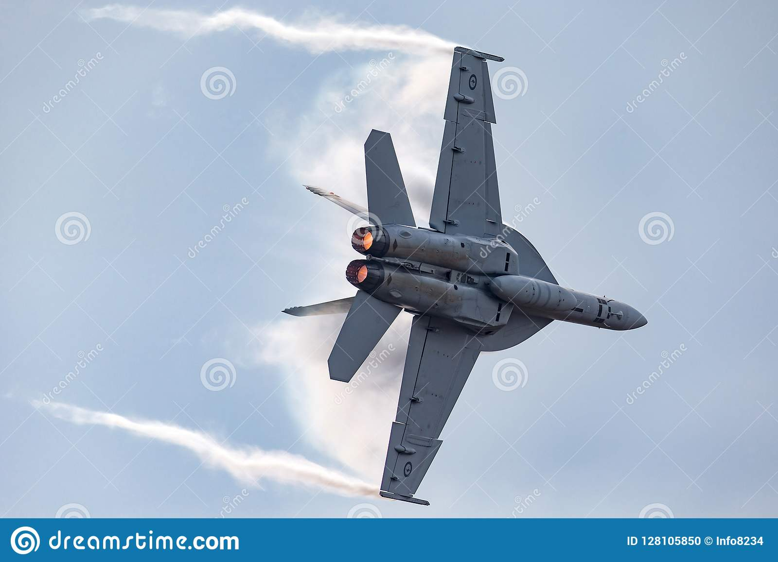 Royal Australian Air Force RAAF Boeing F/A-18F Super Hornet