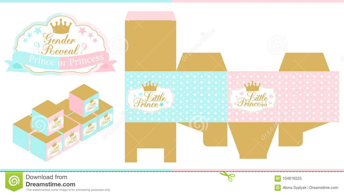 Royal Baby Shower Gender Reveal Party Prince Or Princess Blue