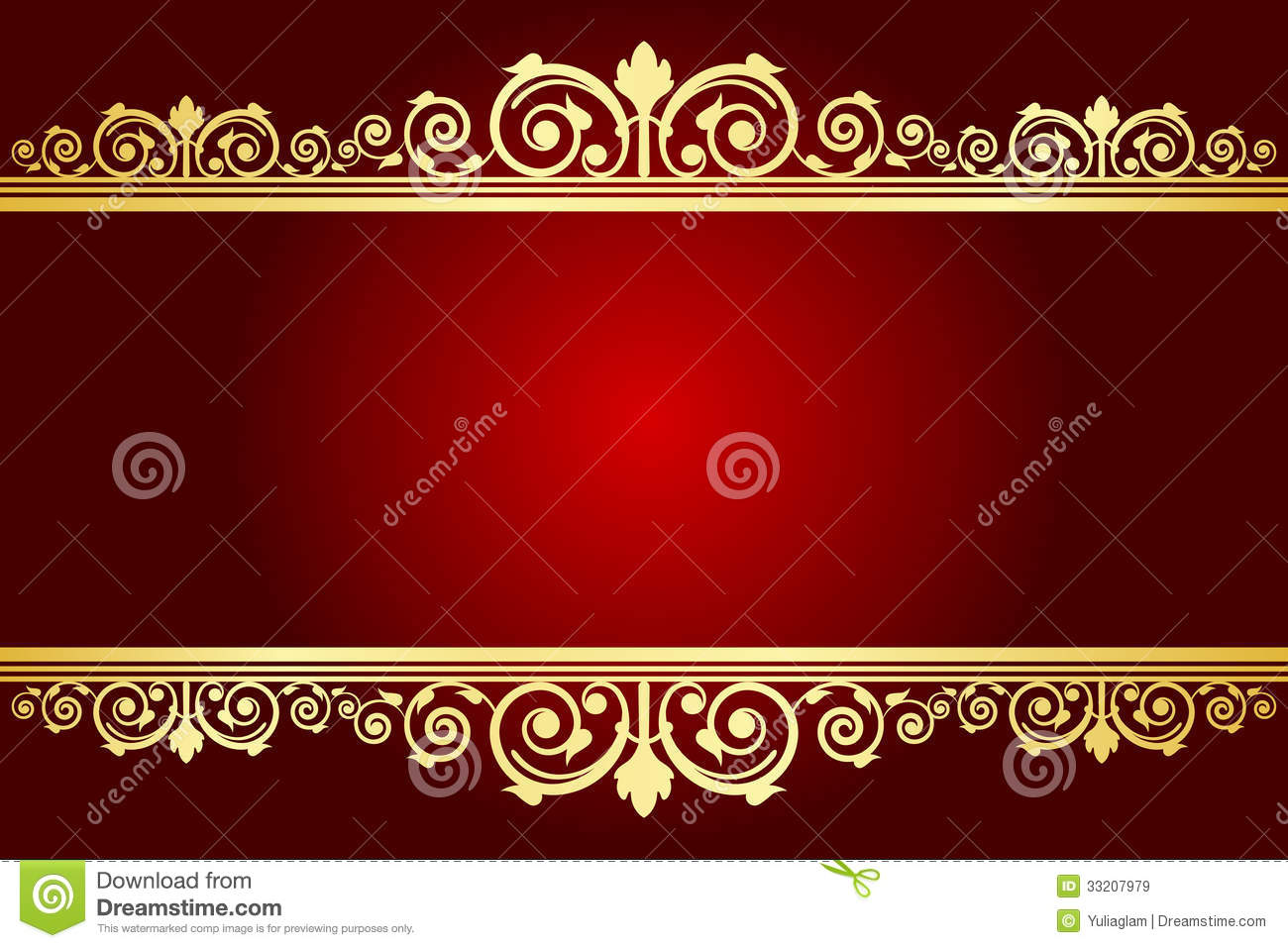 royal background with decorated frame stock vector