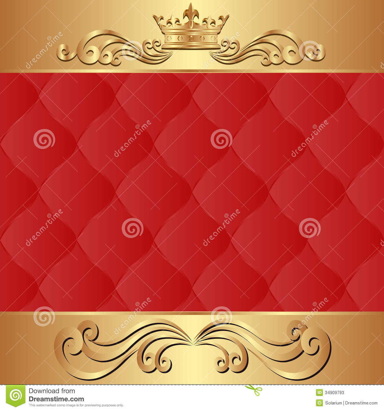 Gold crown background - photo#12