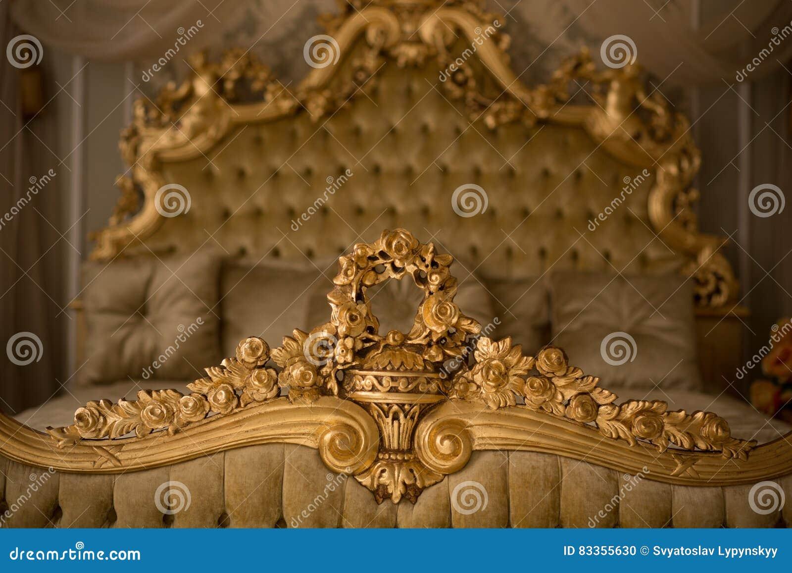 Download Royal Bedroom Interior Stock Photo Image Of Decor Luxury