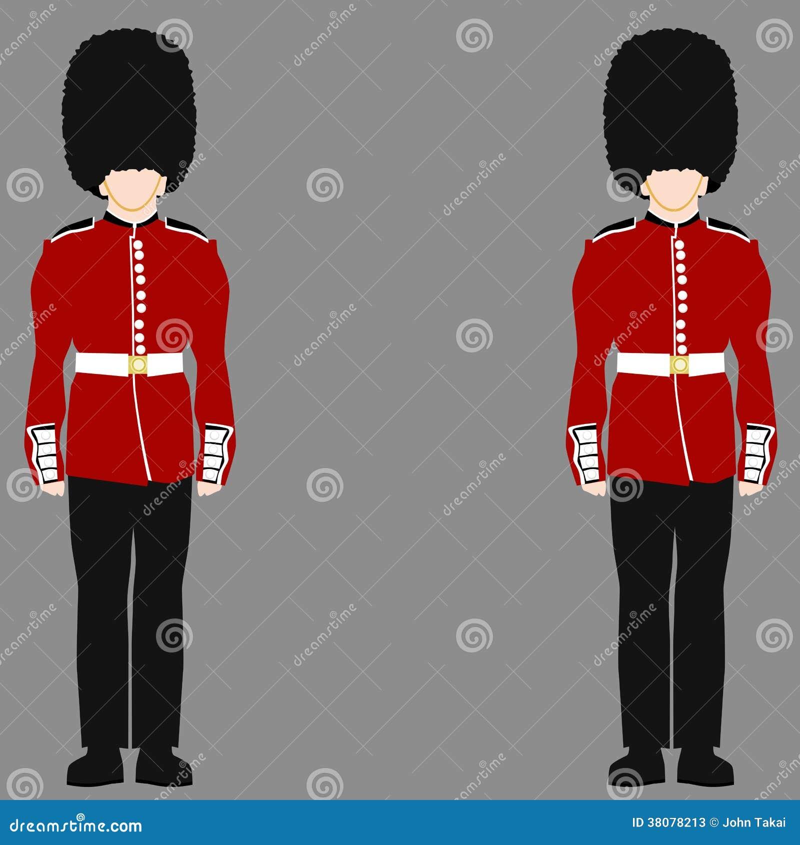 Royal British Guard Stock Photos Image 38078213