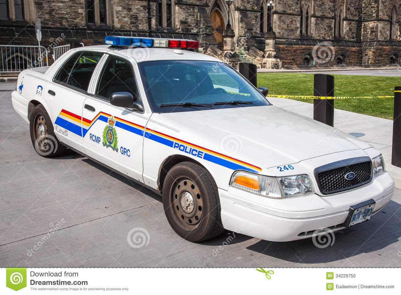 Royal Canadian Mounted Police Police Car Editorial Image