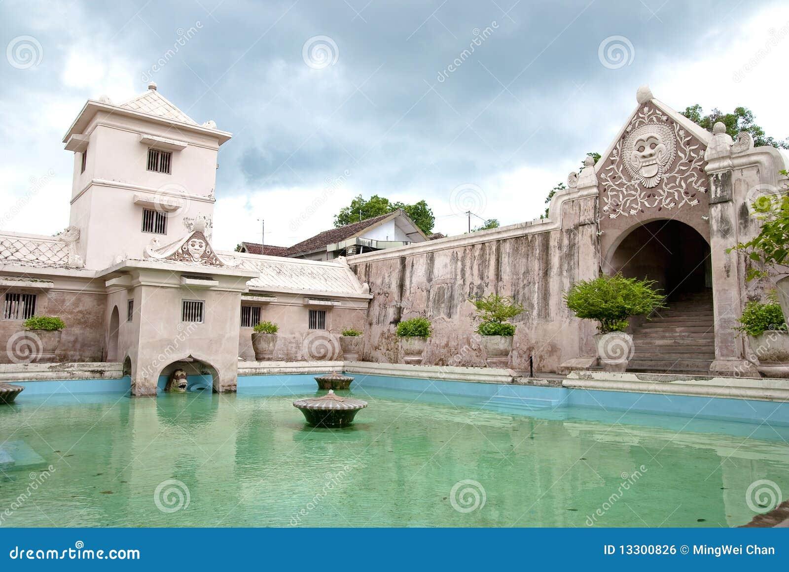 Royal Castle Borobudur Royalty Free Stock Image Image