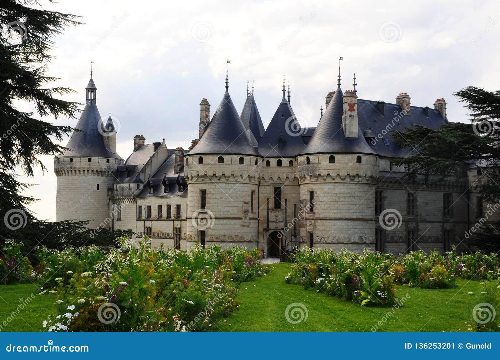 The royal chateau de Chaumont, Loire