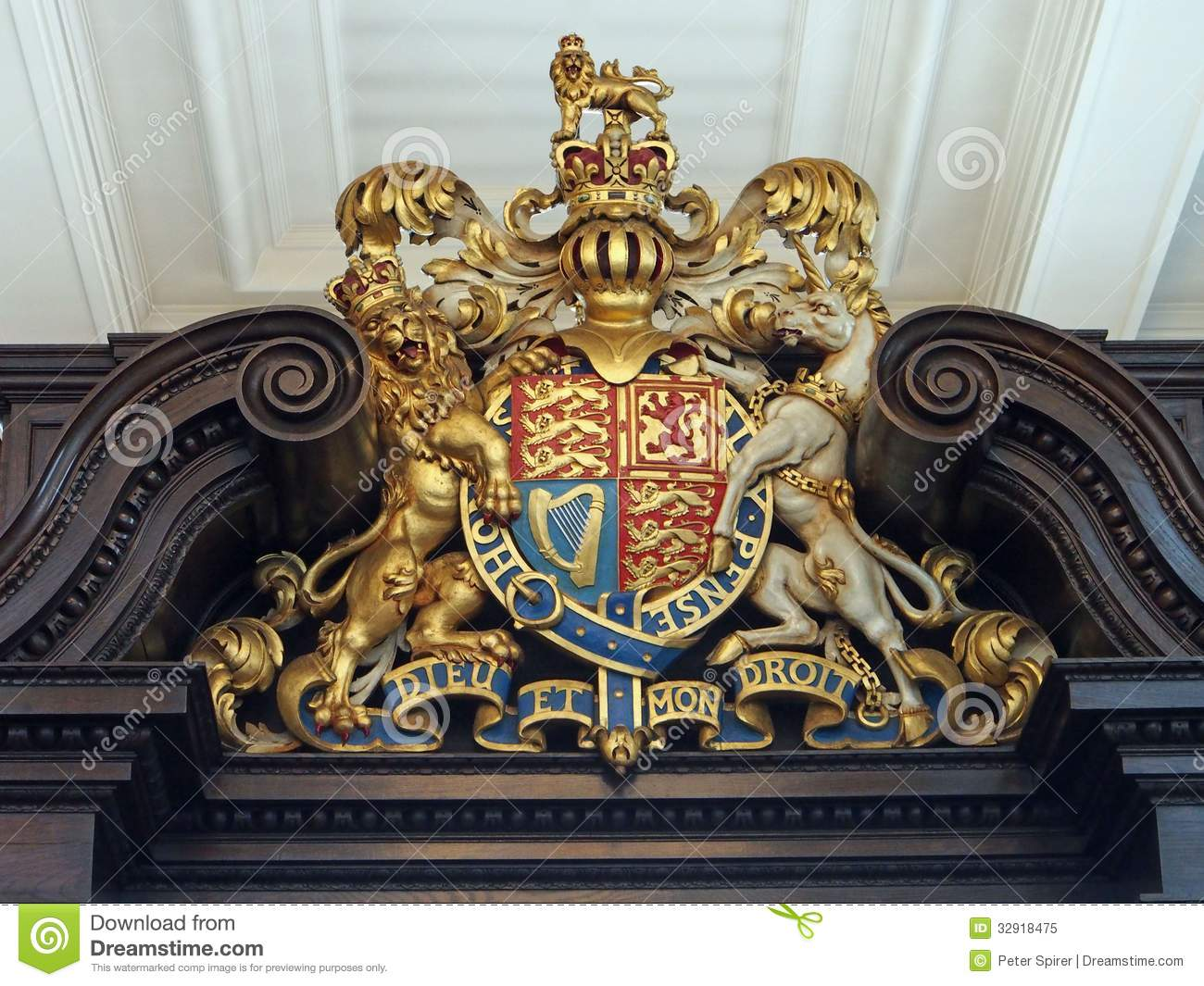 royal coat of arms investigation