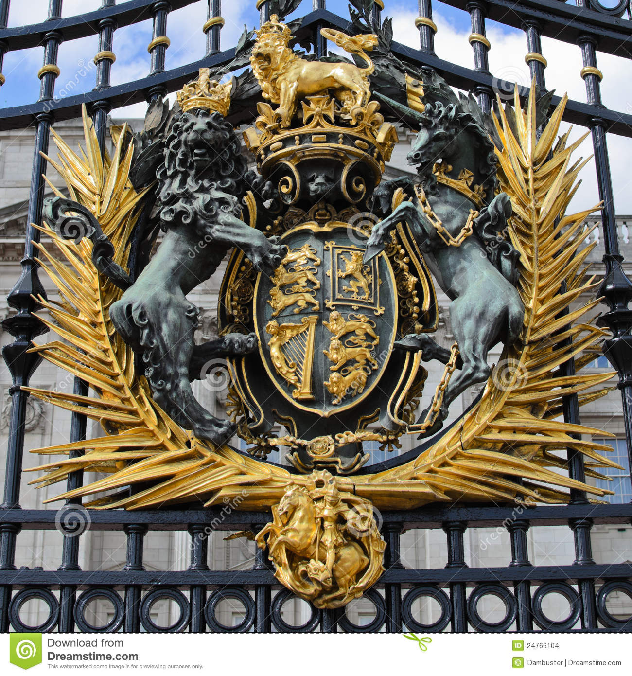Royal Crest Stock Images Image 24766104