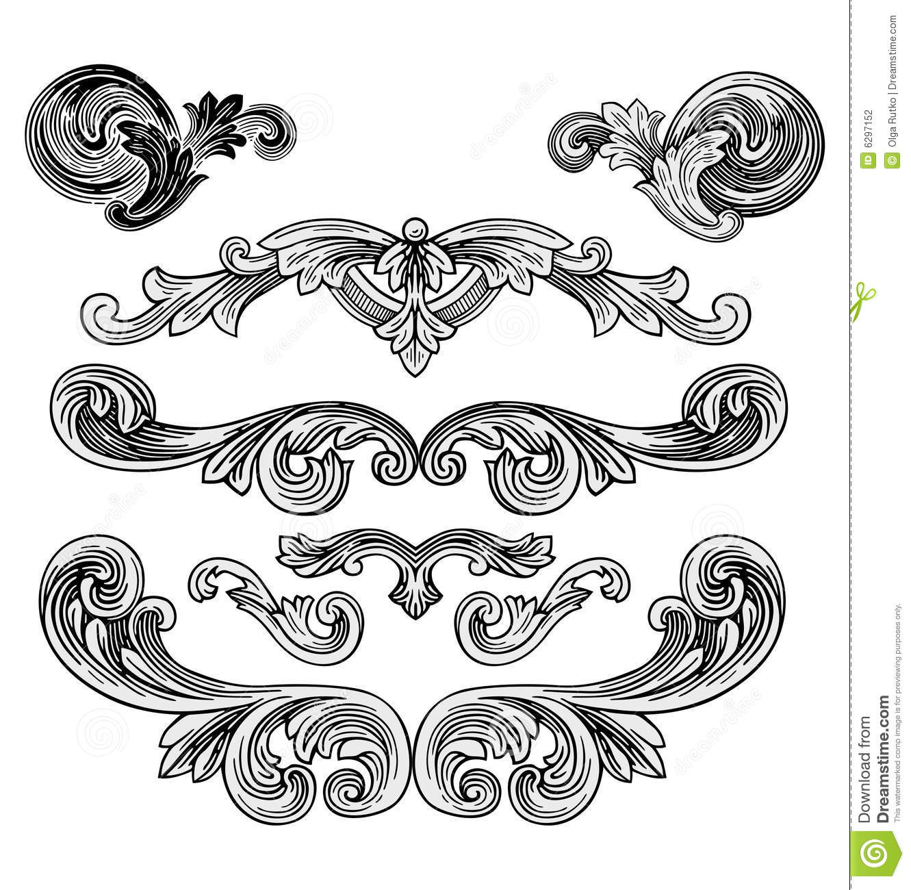Royal Design Elements Vector Stock Vector - Illustration ...