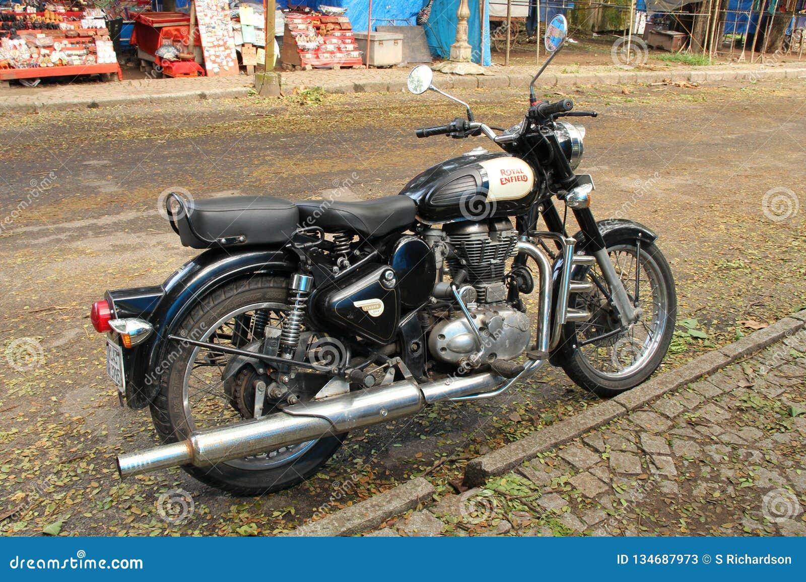 Royal Enfield Bullet Editorial Stock Photo Image Of Motorcycle