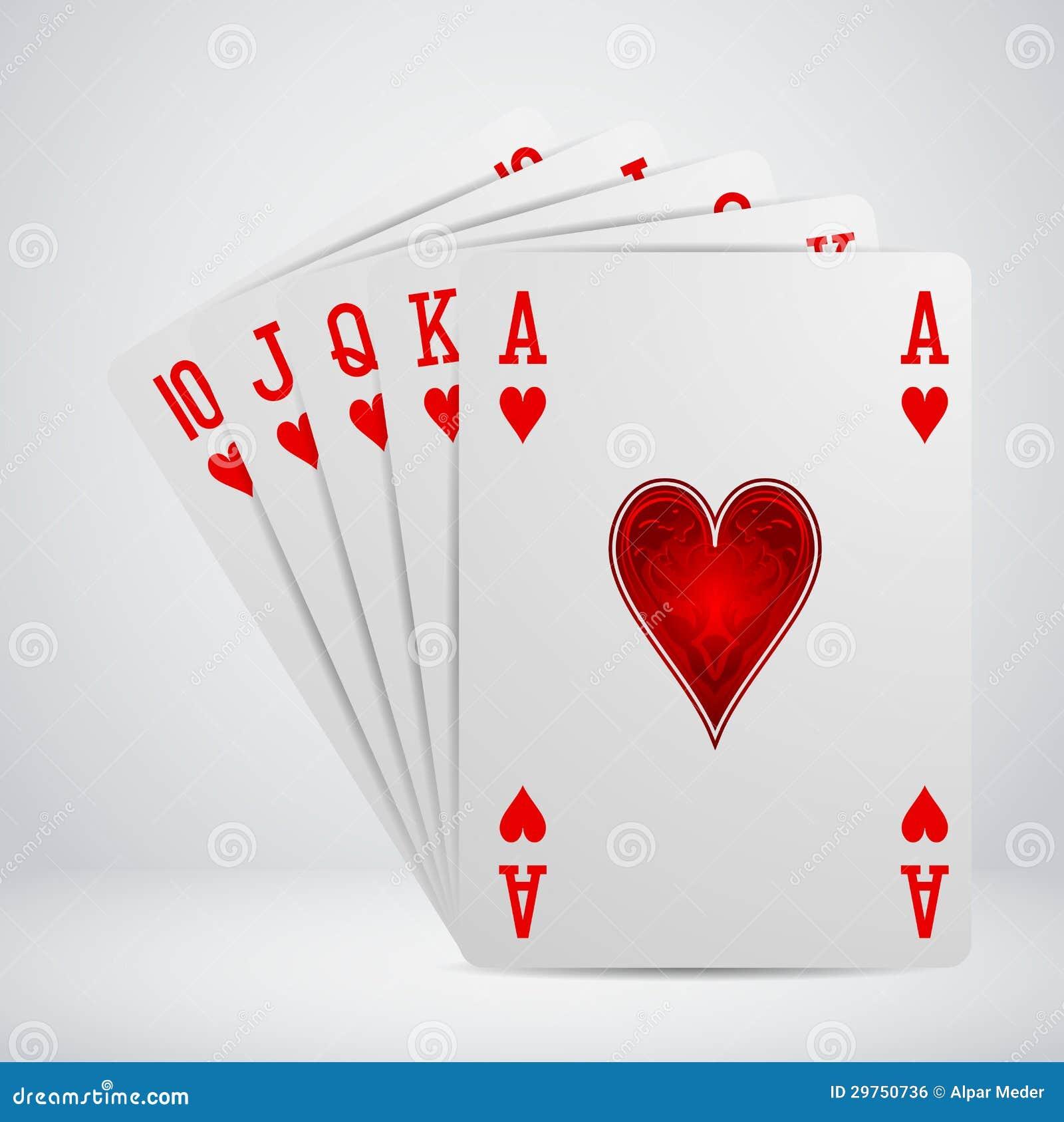 cards flush