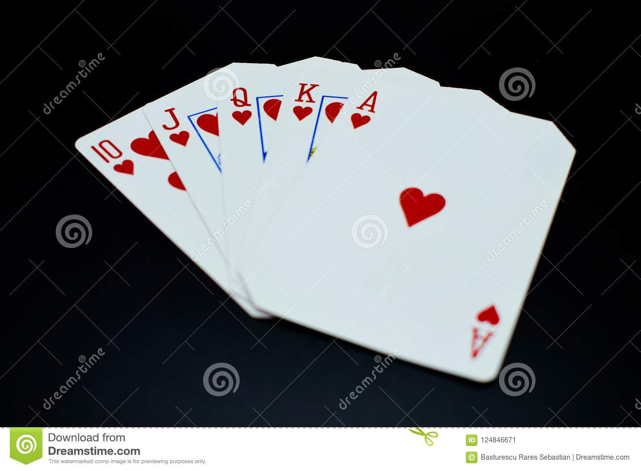 Poker royal flush embroidery design machine instant download.