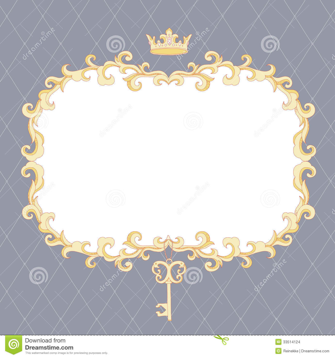 royal frame stock images image 33514124