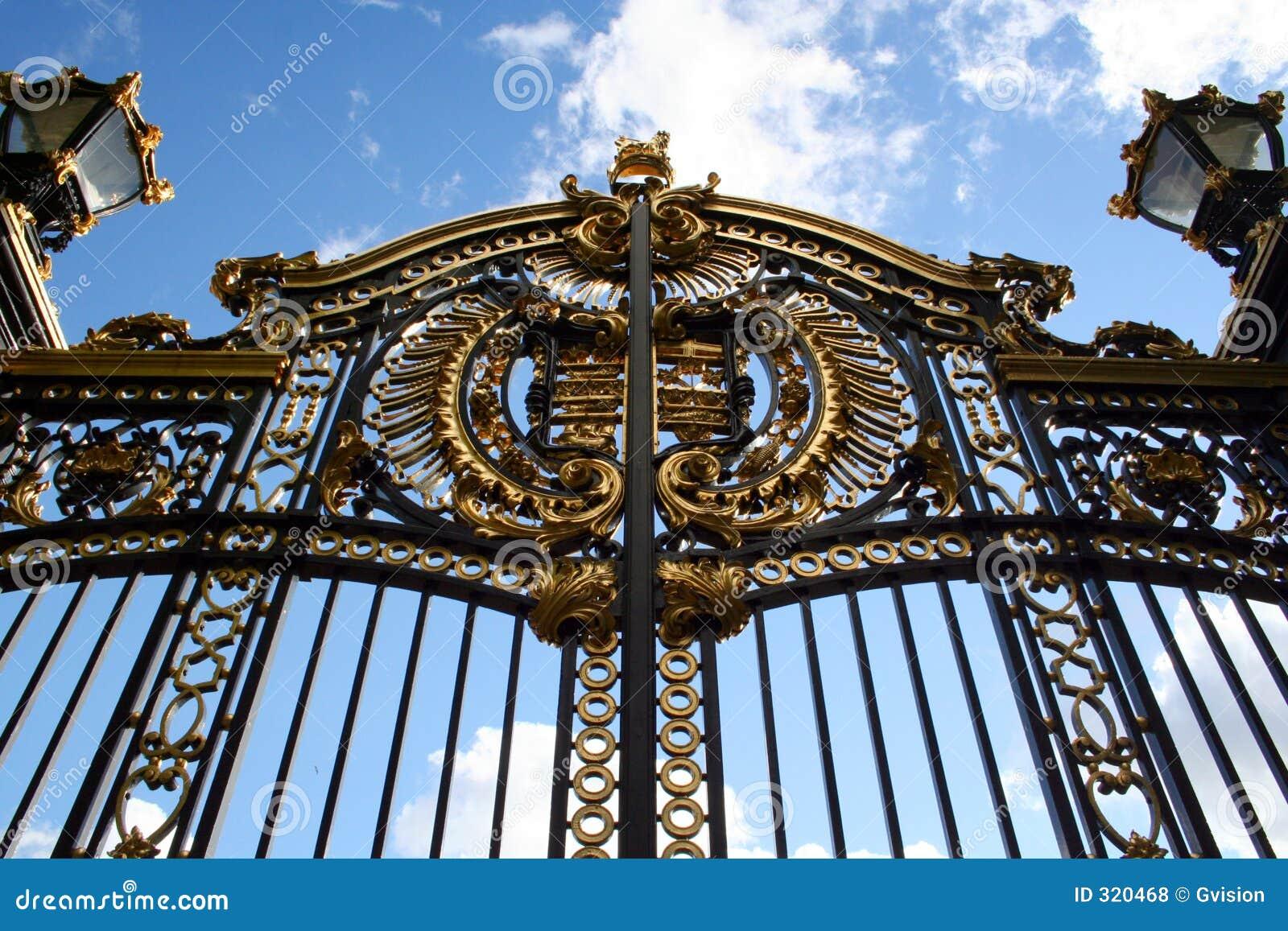 Royal Gate Royalty Free Stock Photos Image 320468