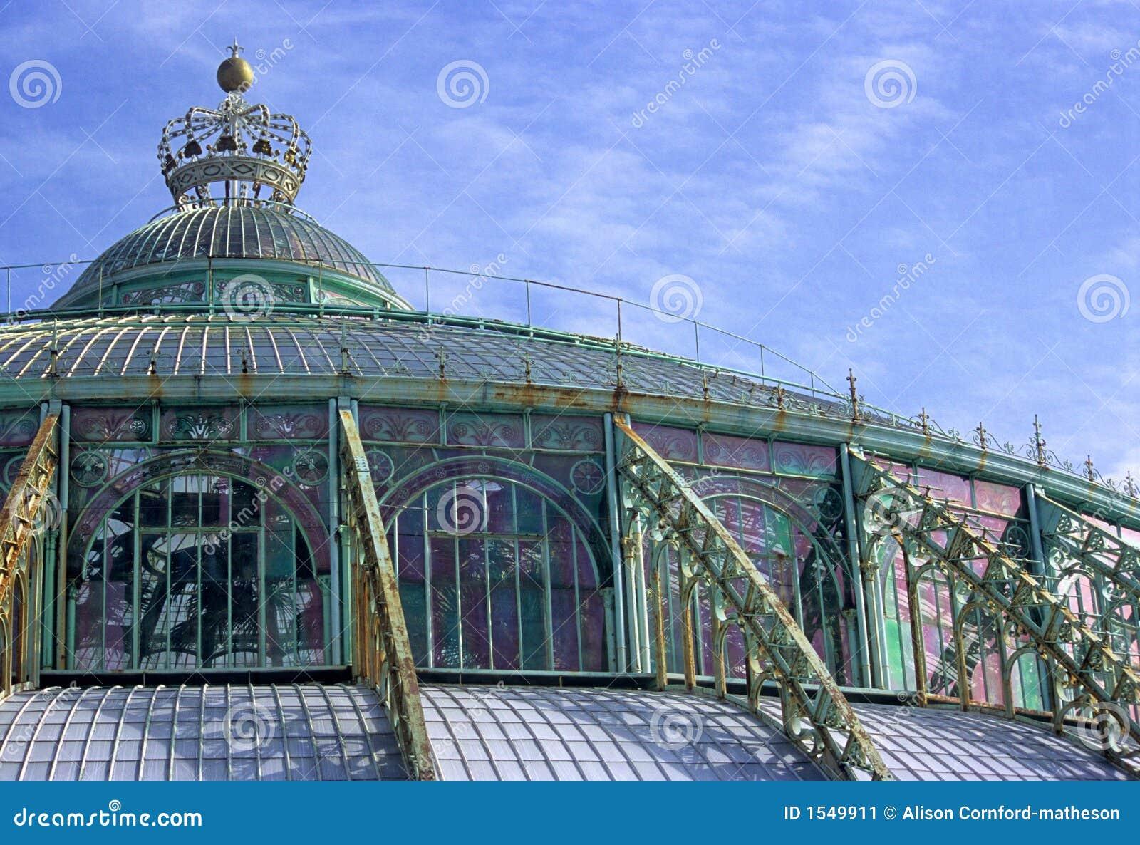 Royal Greenhouse Laeken Belgium Stock Image Image Of