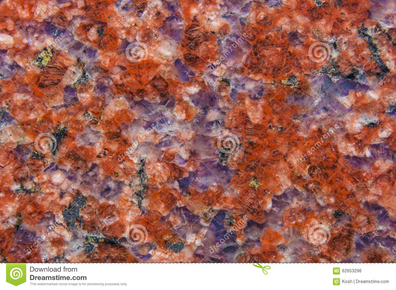 Red And Black Granite : Red and black granite marble texture background royalty