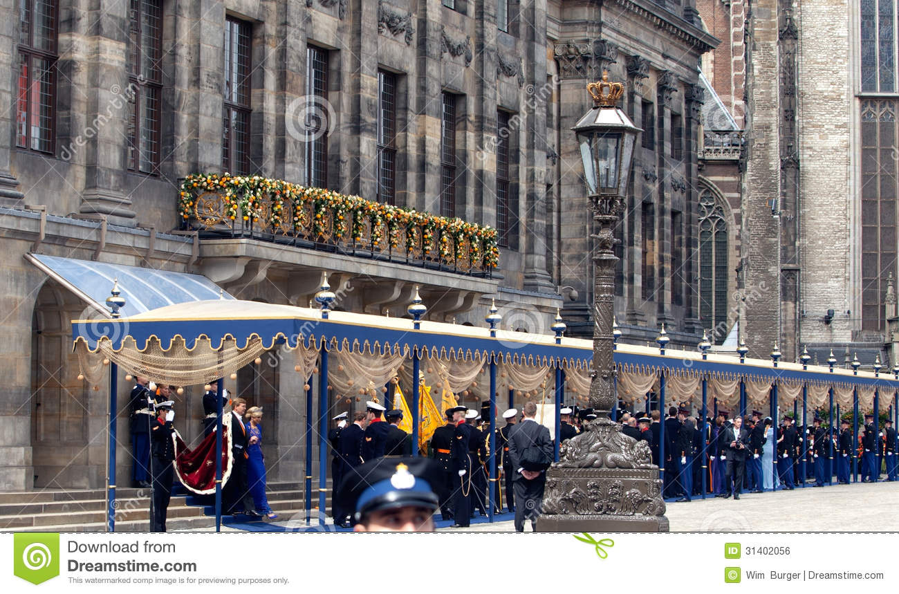 Royal Inauguration In The Netherlands Editorial Photo