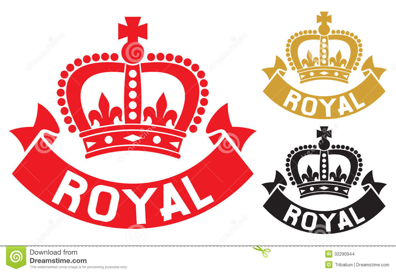 Royal Label Stock Images - Image: 32290944