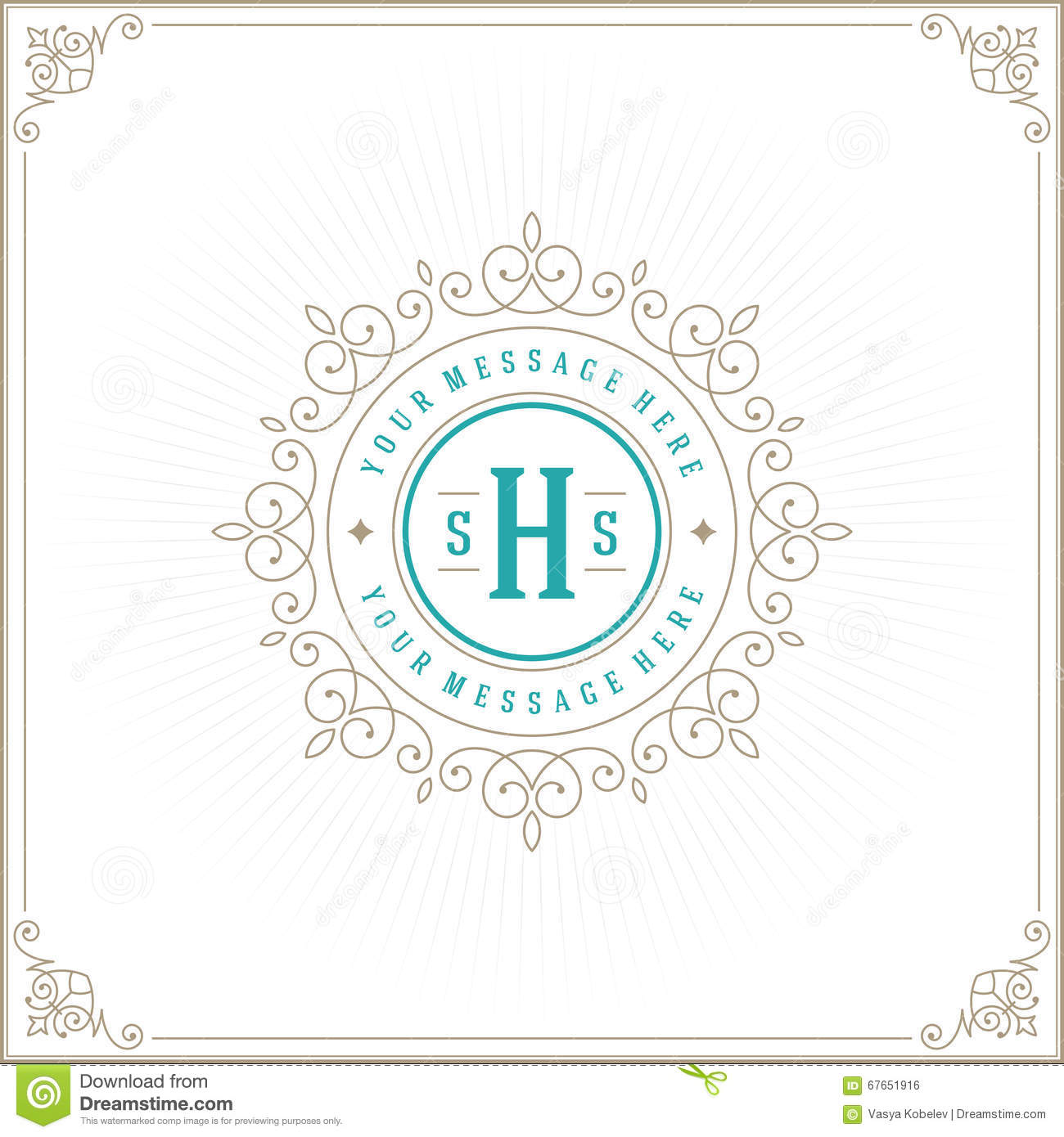 Elegant royal frame with crown vector colourbox - Luxury Ornamental Pattern Template For Design Vector Colourbox Filename Royal Logo Design Template Vector Decoration
