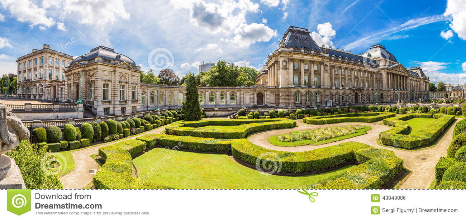 Royal Palace a Bruxelles