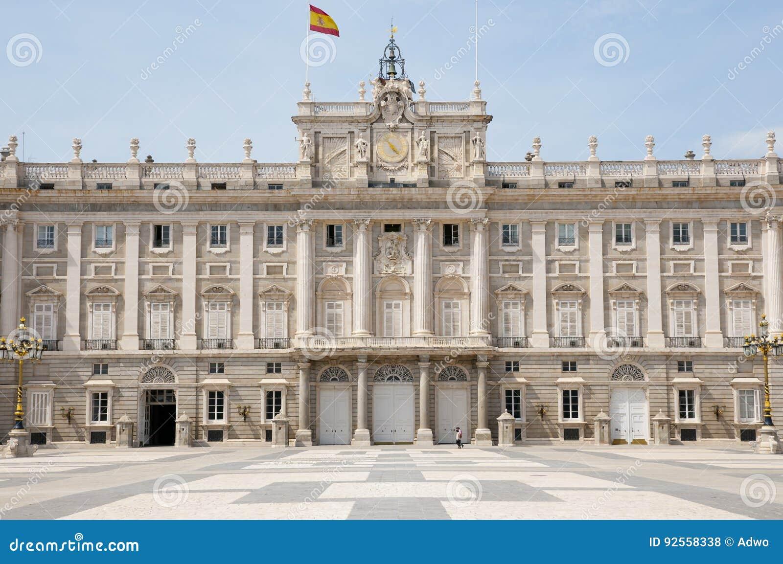 Royal Palace di Madrid - la Spagna