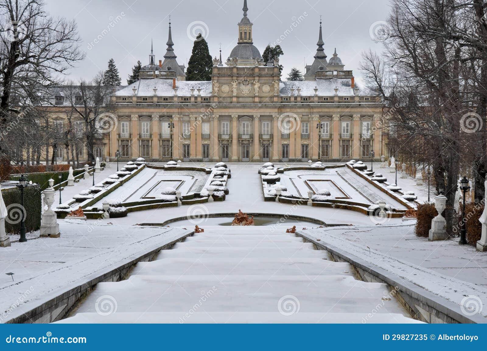 Royal palace of la granja de san ildefonso segovia spain - Parador de la granja fotos ...