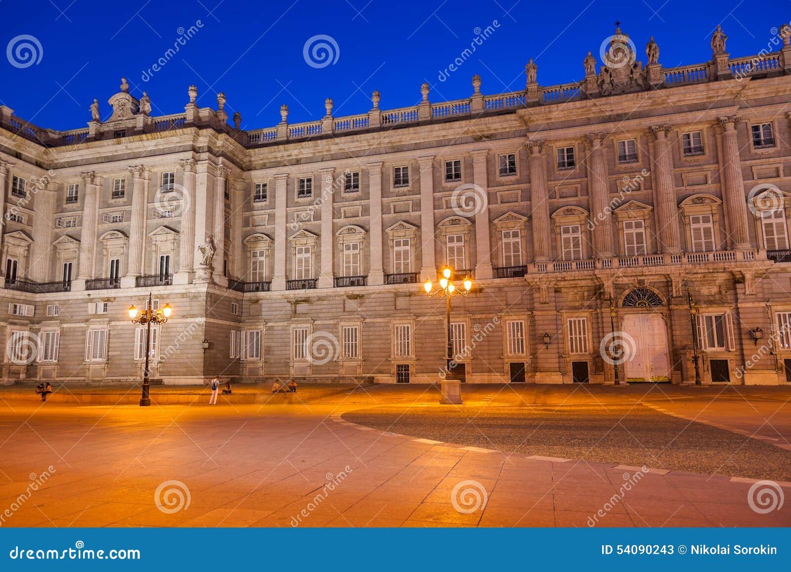 Royal Palace in Madrid Spanje