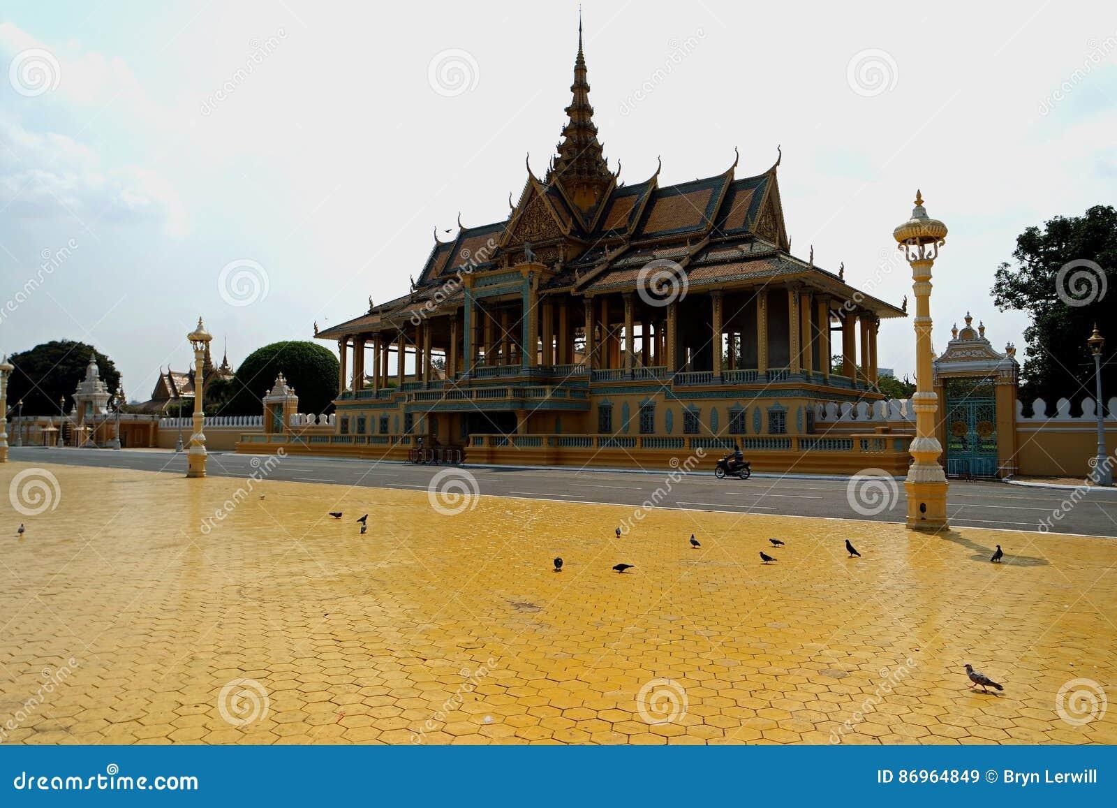Royal Palace Phom Penh, Cambodja