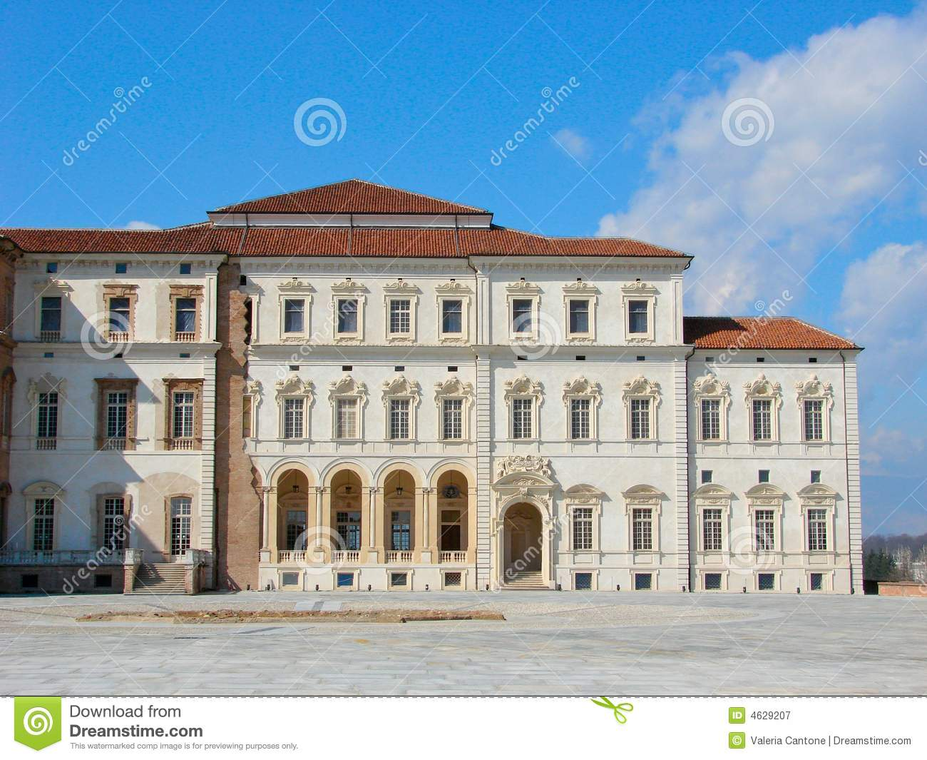 The Royal Residence Of Venaria Royalty Free Stock Photography Image 4629207