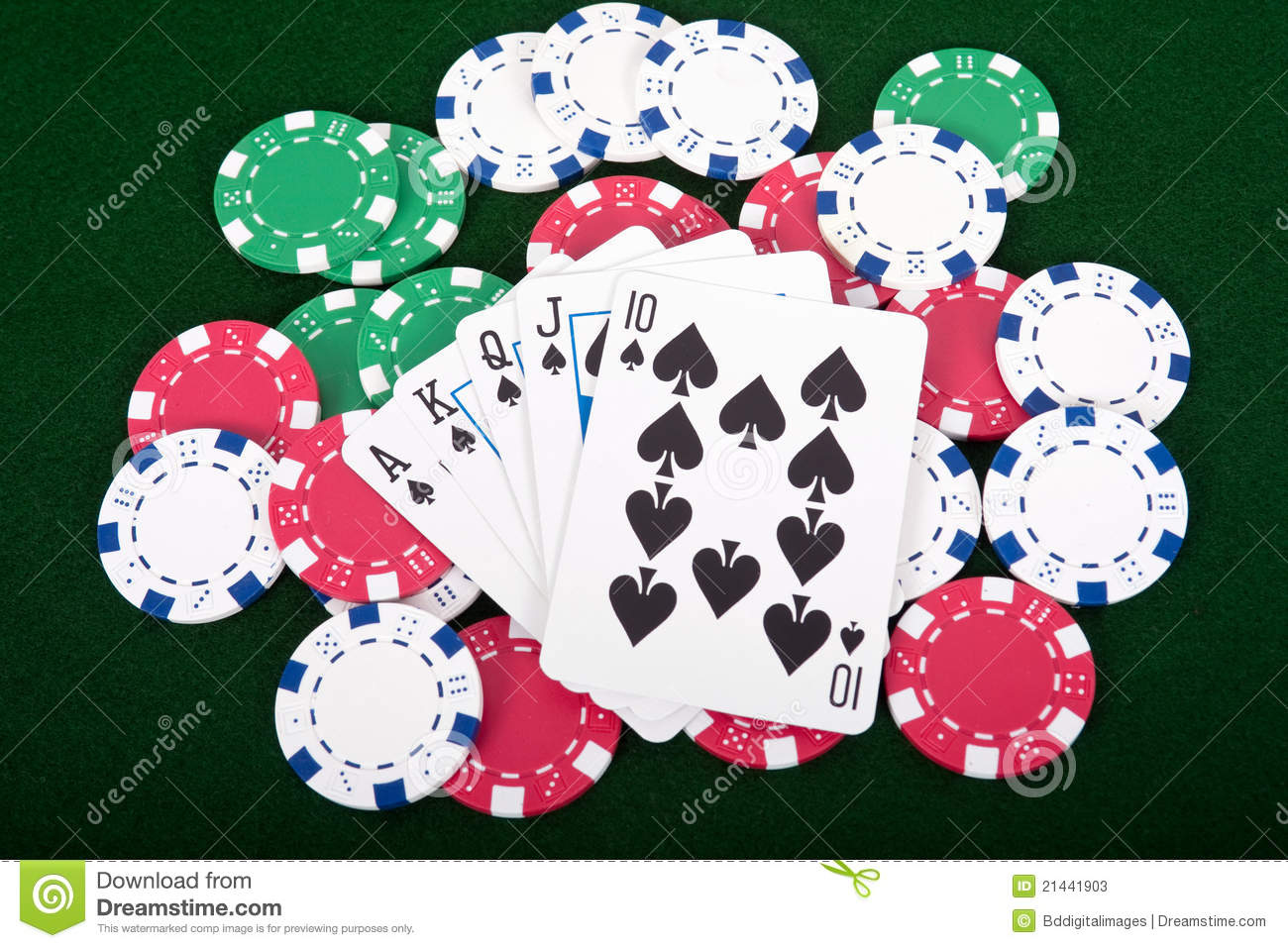 is ace high or low in poker straight
