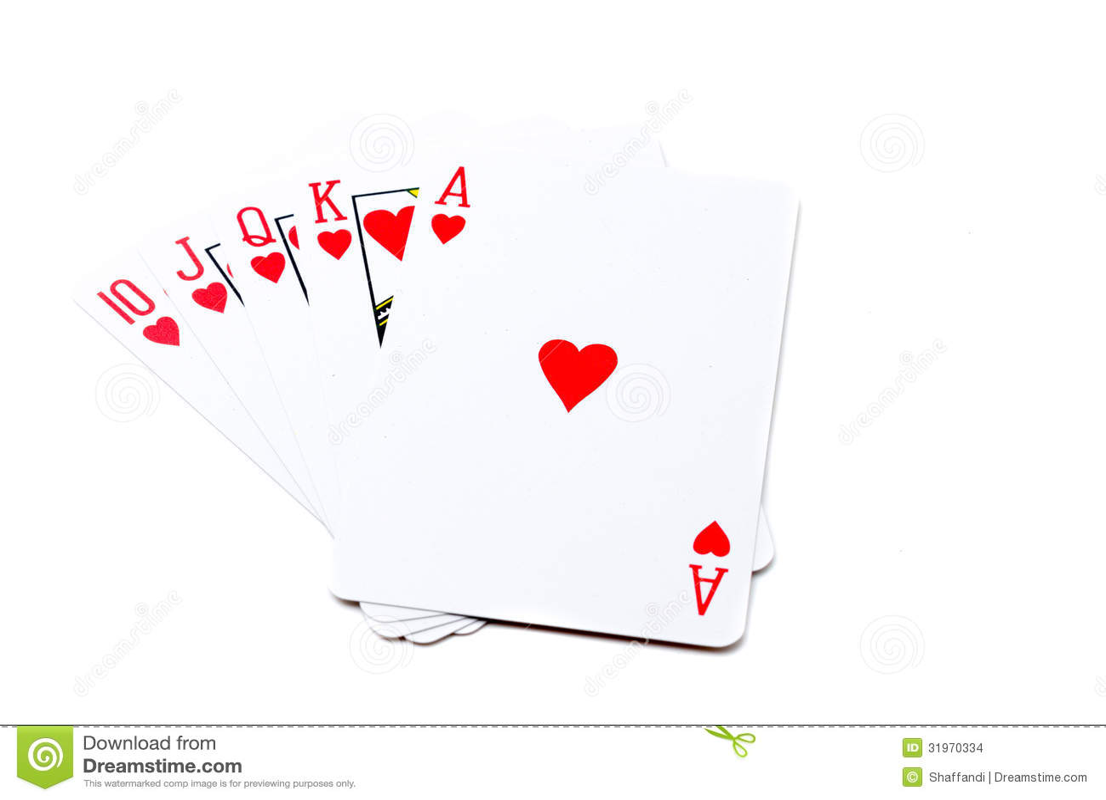 Poker Straight Flush Undersea Slots