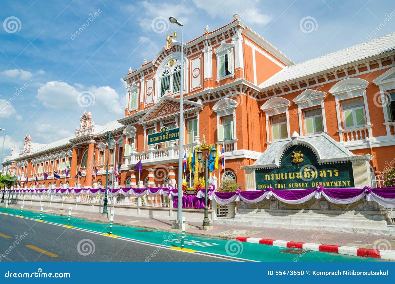 Royal Thai Survey Department Bangkok Thailand Editorial Image - Where is thailand located