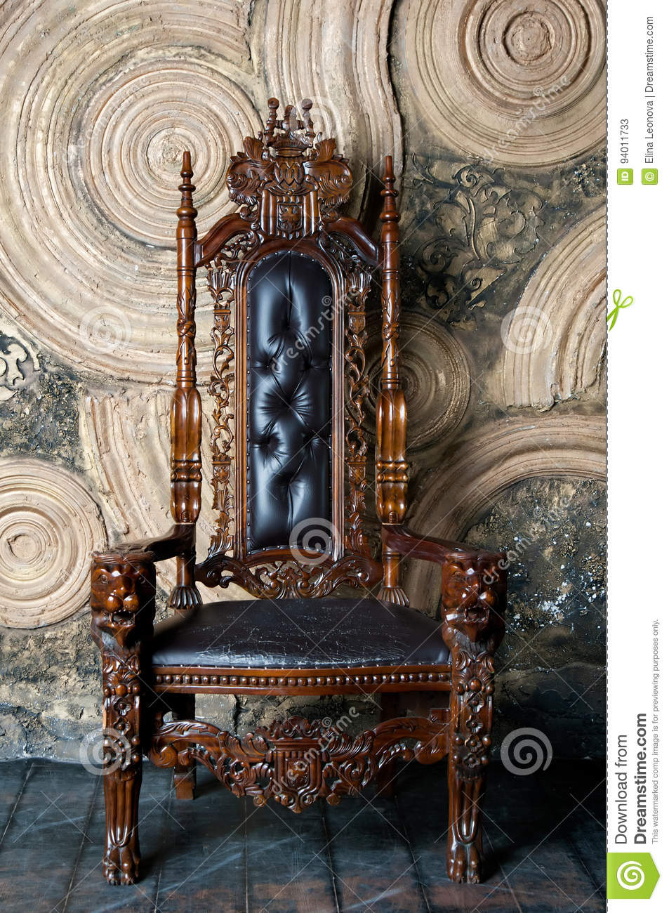 Royal King Chair - Royalty free stock photo download royal throne for king