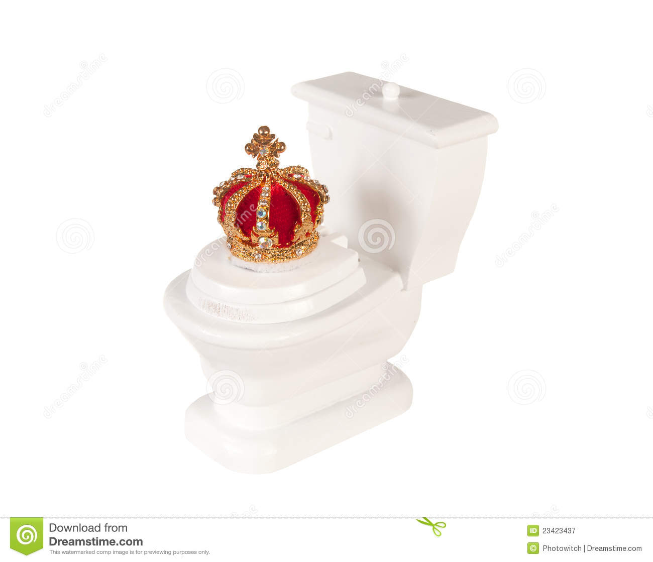 royal toilet royalty free stock photography image 23423437 free crown clipart for cricut free crown clipart for cricut