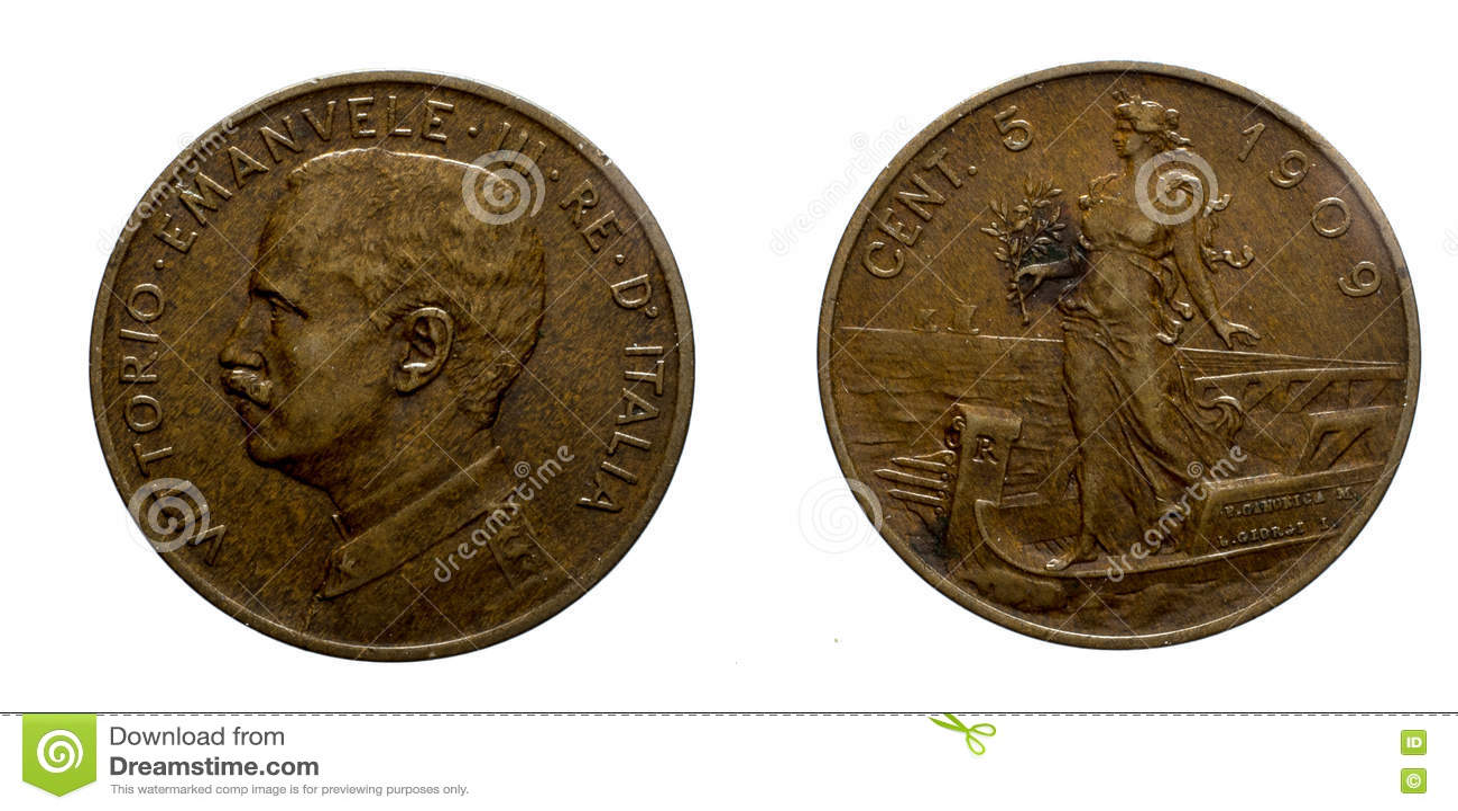 piece de monnaie 1909
