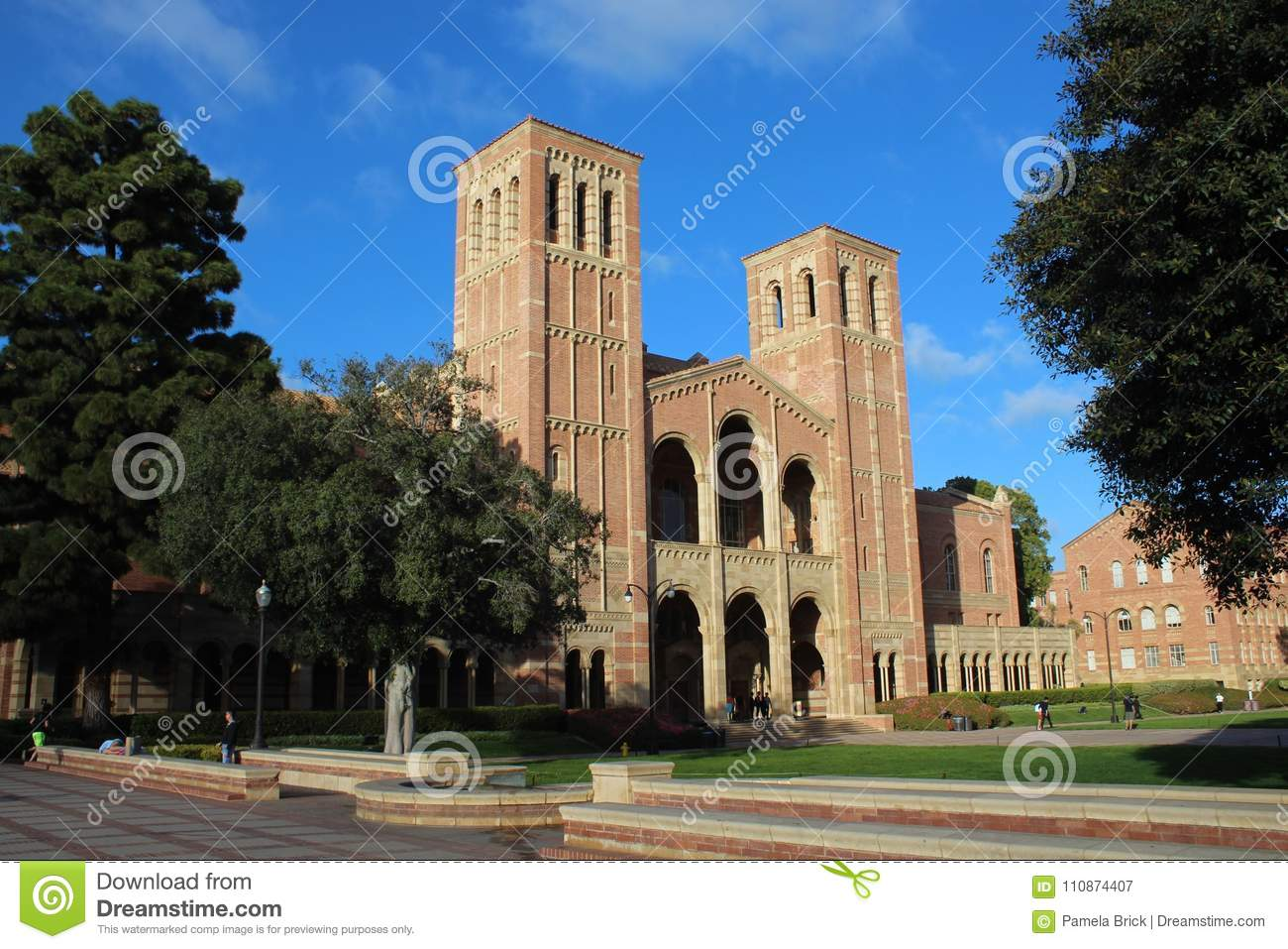 The Hall Is A Performance Arts Building At UCLA That Houses A Concert Hall  And Classrooms. It Is The Most Recognized UCLA Landmark.