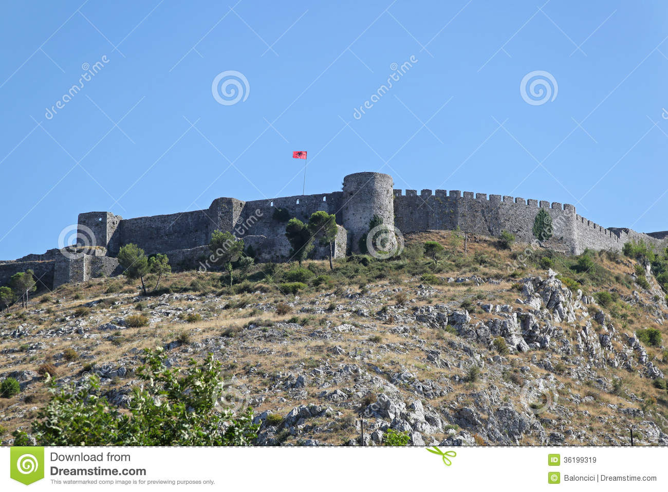 Shkoder and the fortress of Rozaf 94